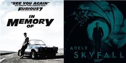 5 ca khúc thổi hồn cho các siêu phẩm hành động nổi tiếng Hollywood