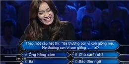 Chết cười với những phần đáp án 'khó đỡ' của 'Ai là triệu phú'