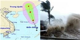 Cơn bão đầu tiên đã xuất hiện tại Biển Đông trong năm nay