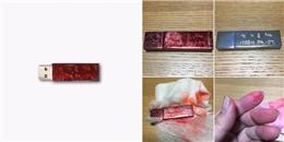 'Khóc thét' khi album USB của G-Dragon 'sạch bóng' khi chùi bằng khăn