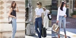 5 kiểu áo xinh cứ đến hè là lại mặc cùng quần jeans