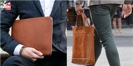 Cách chọn túi xách từ phù hợp đến đúng chuẩn cho phái mạnh