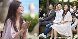 yan.vn - tin sao, ngôi sao - Triệu Vy xinh đẹp hội ngộ Tô Hữu Bằng trong lễ cưới