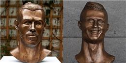 """Chủ nhân bức tượng thảm họa của Ronaldo lại trình làng """"kiệt tác"""" mới"""