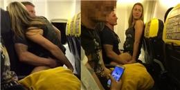 Lộ danh tính người phụ nữ tóc vàng làm 'chuyện ấy' trên máy bay