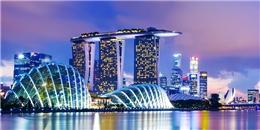 Choáng ngợp với một Singapore cực kỳ lộng lẫy khi đêm về