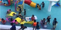 Bé trai 9 tuổi chết đuối trong bể bơi đông đúc không ai hay biết