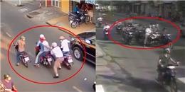 Tổng hợp: Những màn kẻ cướp dàn cảnh đụng xe cướp của ở Sài Gòn