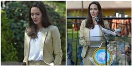 Hậu ly hôn, Angelina Jolie ngày càng trẻ trung rạng rỡ như gái 20