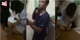 Gia đình chồng giúp con dâu mới sinh đánh ghen con trai và bồ nhí