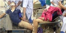 Bắc Giang: Nam thanh niên bị máy nghiền gạch nghiến nát chân phải