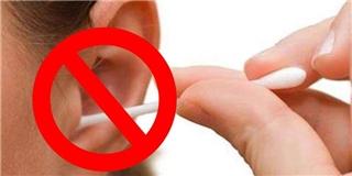 Làm sạch ráy tai bằng tăm bông,  lợi ích ở chỗ nào?