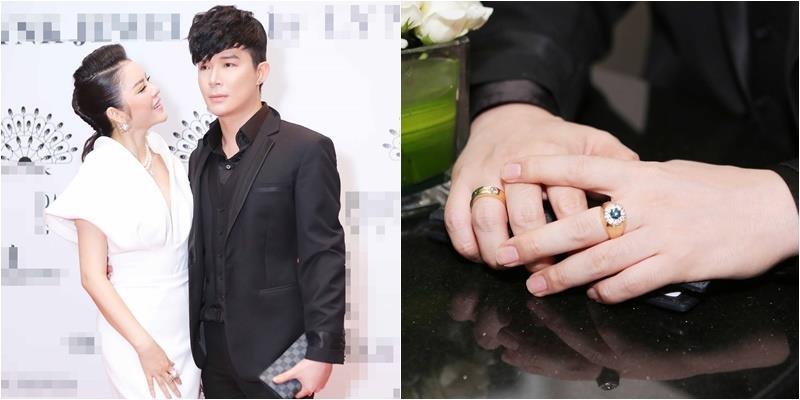 Nathan Lee đeo nhẫn kim cương 8 tỷ đồng đến mừng Lý Nhã Kỳ