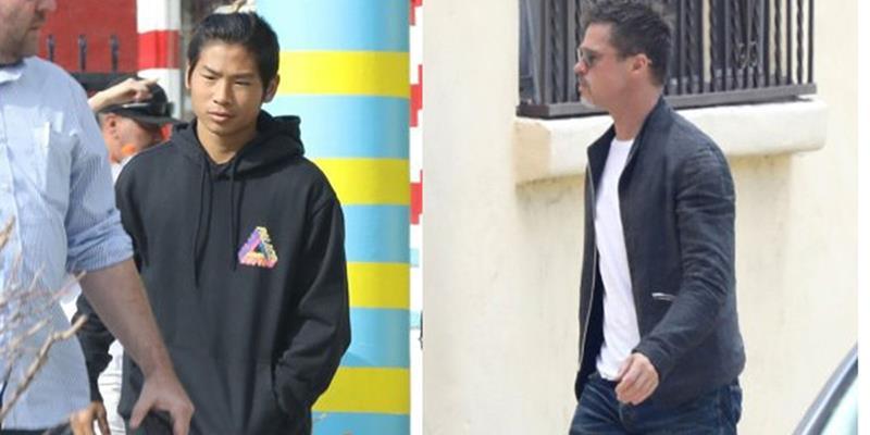 Áp lực chuyện gia đình, Pax Thiên và Brad Pitt phải điều trị tâm lý
