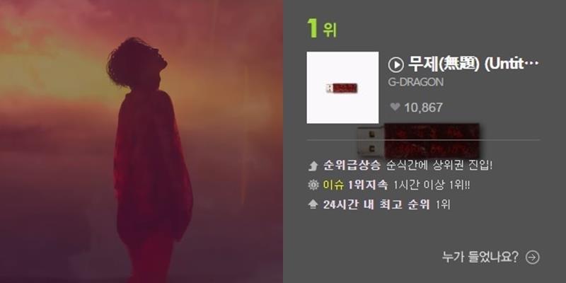 yan.vn - tin sao, ngôi sao - G-Dragon chính thức all-kill mọi BXH âm nhạc sau 1 giờ ra mắt album