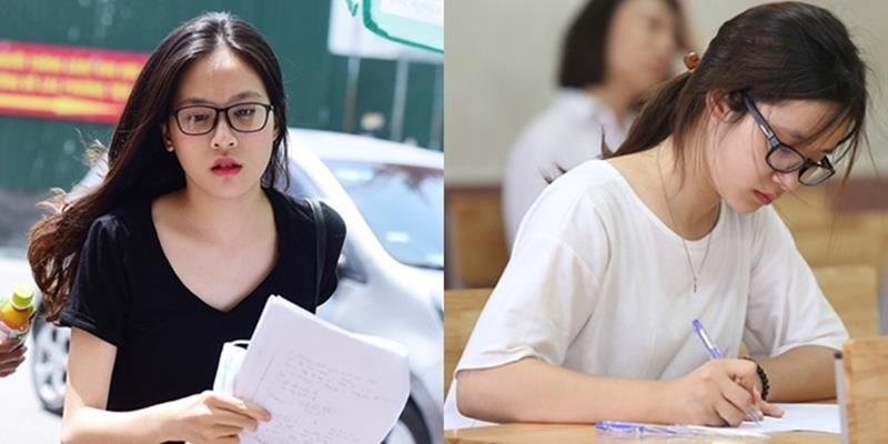 Xinh như hot girl, nữ sinh dự thi THPT Quốc gia thu hút mọi ánh nhìn