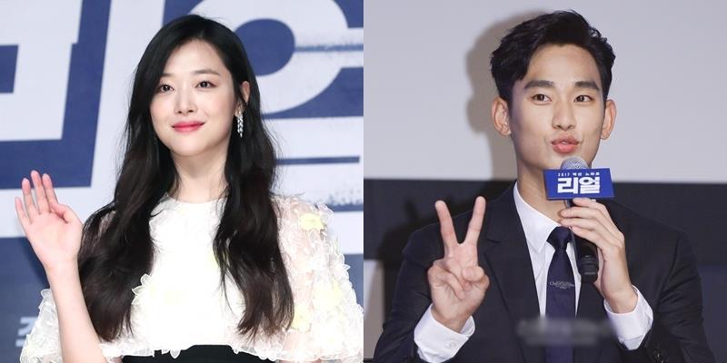 Sulli nữ tính sánh đôi bên Kim Soo Hyun trong sự kiện ra mắt phim mới