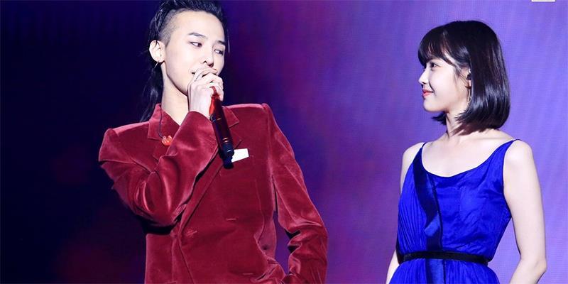 G-Dragon cùng IU live siêu đỉnh trên sân khấu MOTTEinSeoul
