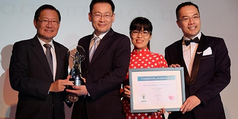 CGV nhận giải thưởng doanh nghiệp trách nhiệm châu Á 2017
