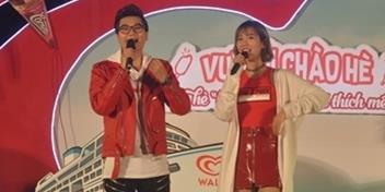 yan.vn - tin sao, ngôi sao - Chi Pu, Min tưng bừng dự lễ hội kem đẳng cấp thế giới tại Hà Nội