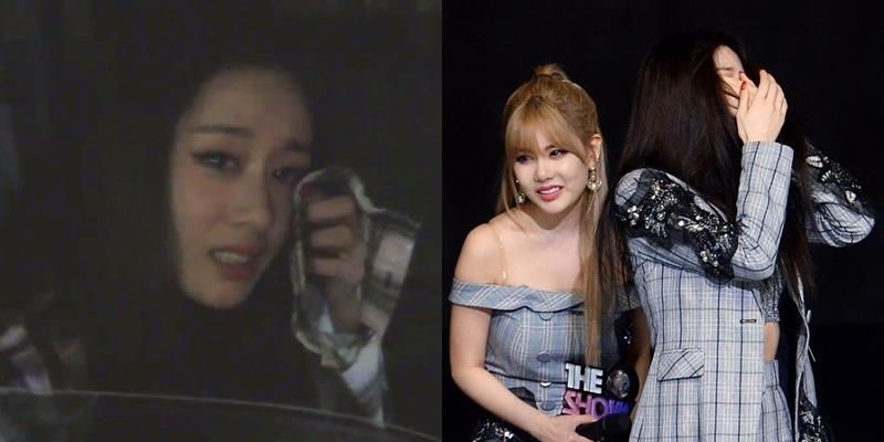 Hậu chiến thắng, Jiyeon bật khóc nức nở trong tiếng reo hò của fan