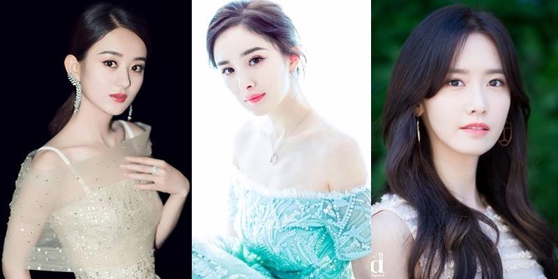 Vượt qua Yoona, Dương Mịch, Triệu Lệ Dĩnh là nữ thần đẹp nhất Châu Á