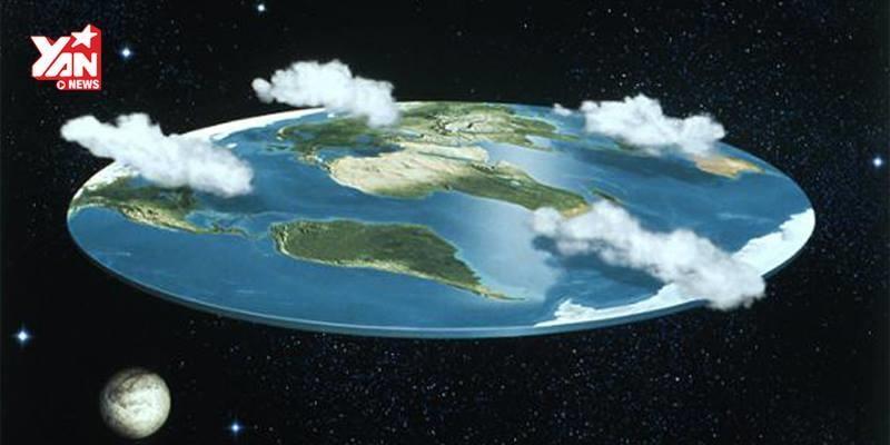 """Đây là lý do ngoan cố của những người tin rằng """"Trái đất hình cái đĩa"""""""