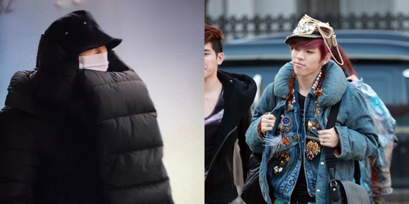"""Muôn kiểu thời trang sân bay """"khó đỡ"""" của các idol nam xứ Hàn"""