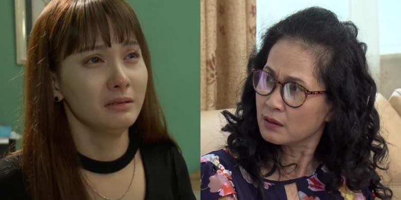"""""""Sống chung với mẹ chồng"""": Vân giàn dụa nước mắt xin mẹ cho ly hôn"""