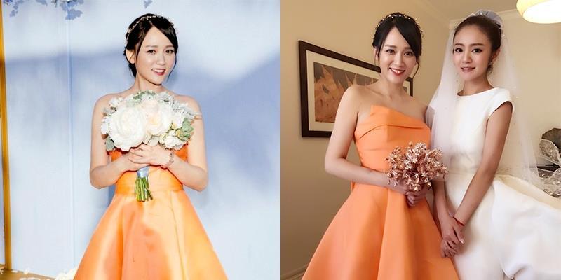 Bắt được hoa cưới bạn thân, Trần Kiều Ân háo hức khoe khắp mạng xã hội