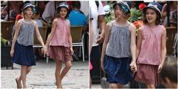 yan.vn - tin sao, ngôi sao - Suri Cruise xinh đẹp tựa nữ thần, tươi tắn dạo chơi cùng bạn trên phố