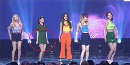 """Mặc váy quá ngắn, Irene (Red Velvet) suýt bị """"lộ hàng"""" đến 11 lần trên sân khấu"""
