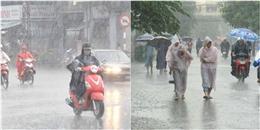 Khu vực Bắc bộ và Nam bộ tiếp tục mưa dai dẳng trong những ngày tới