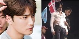 Kim Jaejoong bị thương phải khâu 7 mũi trên phim trường Manhole