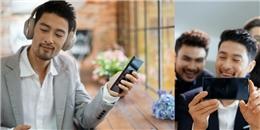 """Johnny Trí Nguyễn """"so găng"""" độ lịch lãm với Xperia XZ Premium"""