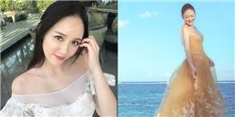Ngất ngây với hình ảnh xinh đẹp 'không tuổi' của 'cô dâu' Trần Kiều Ân