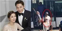 Vừa đám cưới rình rang, Eric Moon và vợ đã bị phóng viên 'bóc phốt'