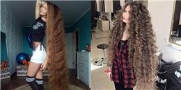 Thử không cắt tóc trong vòng 14 năm, tóc của bạn sẽ dài tới đâu?