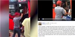 Sự thật vụ khách nước ngoài bị phụ xe ném balo và đuổi xuống xe ở Nha Trang