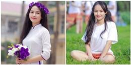 Nữ sinh Hà thành xinh đẹp, giành 30 điểm tuyệt đối khối A