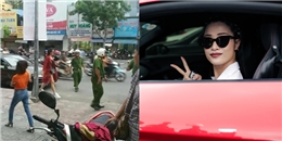 yan.vn - tin sao, ngôi sao - Đỗ xe sai quy định, Đông Nhi bị cảnh sát giao thông