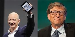 Bill Gates bất ngờ bị soán ngôi giàu nhất thế giới