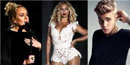 Billboard công bố danh sách 10 ca sĩ kiếm tiền nhiều nhất năm 2017