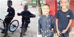 2 anh em đạp hơn 50km tới nhà tù thăm cha, nhưng có ai ngờ...