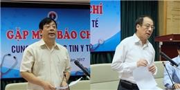 Hà Nội: Bộ Y tế họp khẩn chỉ đạo phòng chống dịch sốt xuất huyết