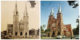 Câu chuyện lịch sử hình thành ít ai biết về Nhà thờ Đức Bà