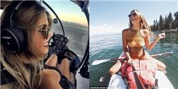 Bỏ công việc mơ ước, cô gái trở thành nữ phi công quyến rũ nhất thế giới