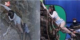 Vạch trần cảnh quay rơi núi của băng nhóm Yoona khiến fan hú hồn
