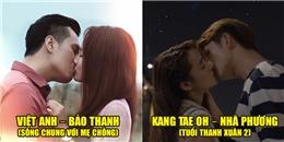 Những nụ hôn lãng mạn trong phim Việt khiến biết bao khán giả màn ảnh say đắm