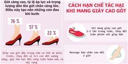 Làm thế nào để diện giày cao gót vừa đẹp mà vẫn khỏe mạnh?